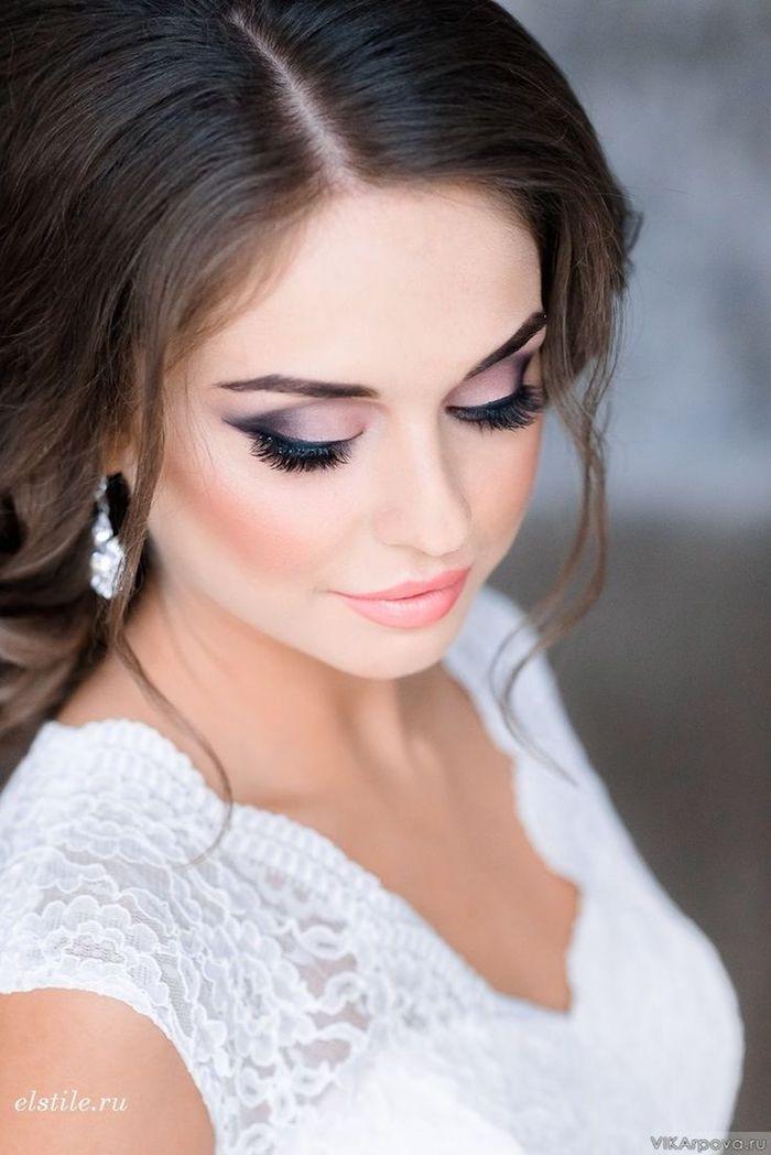 1001 Ideen Fur Atemberaubendes Hochzeits Make Up Make Up Braut Weisses Haar Braut Make Up