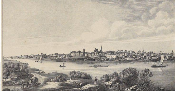 PANORAMA WARSZAWY 1839