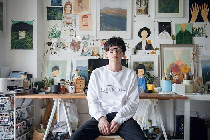 Oamul (卤猫/Lu Mao) is a 27-year-old illustrator based in Xiamen, China.