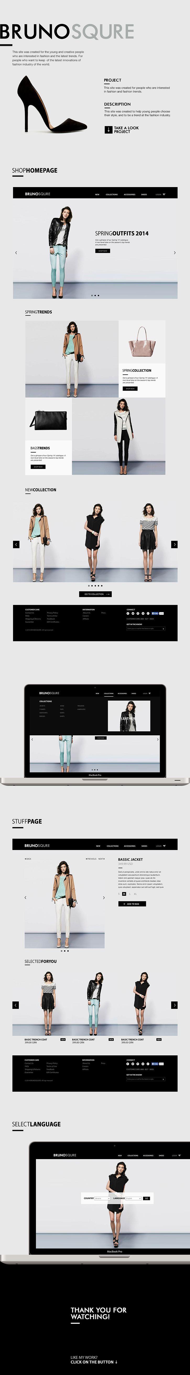 Brunosqure website