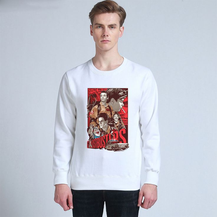 Holiday gift original ghostbusters unisex thick sweatershirts cotton hoodies 02