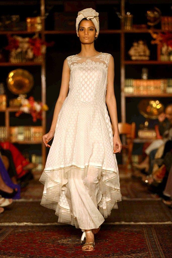 A look by Tarun Tahiliani at Lakmé Fashion Week. [Courtesy Photo]