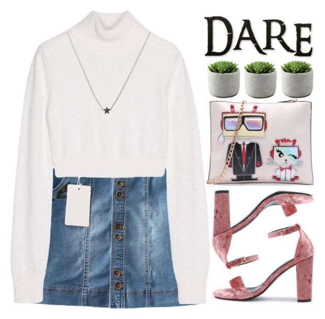 """DARE!"" by m-zineta ❤ liked on Polyvore featuring Balmain and Isabel Lennse"