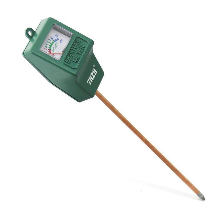 Moisture Meter,THZY Indoor/Outdoor Moisture Sensor Meter,soil water monitor, Hydrometer for gardening, farming: Amazon.co.uk: DIY & Tools