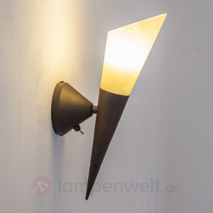 Wandleuchte Alva mit E14-LED-Lampe kaufen   Lampenwelt.de