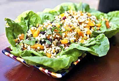 Autumn cous cous salad