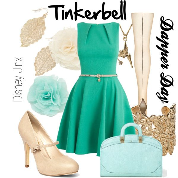 """""""Tinkerbell- Dapper Day"""" by shannazz on Polyvore"""