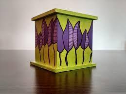 Resultado de imagen para alhajeros de madera pintados