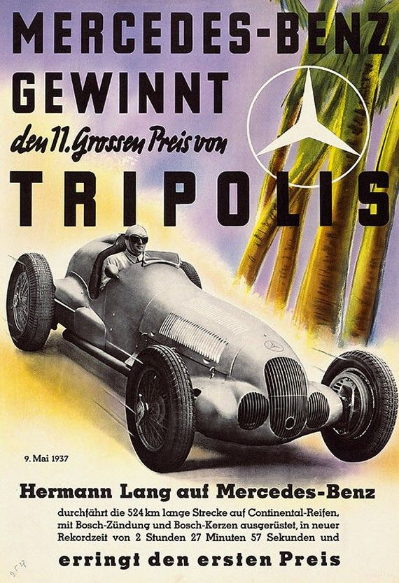 1937 Triploi Grand Prix: Mercedesbenz Racing, Mercedes Benz Racing, Motors Racing, Cars Posters, Art Prints, Racing Posters, Autos Posters, Tripoli Racing, Benz Tripoli