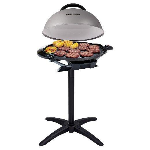 George Foreman 15 Serving Indoor/Outdoor Electric Grill : Target