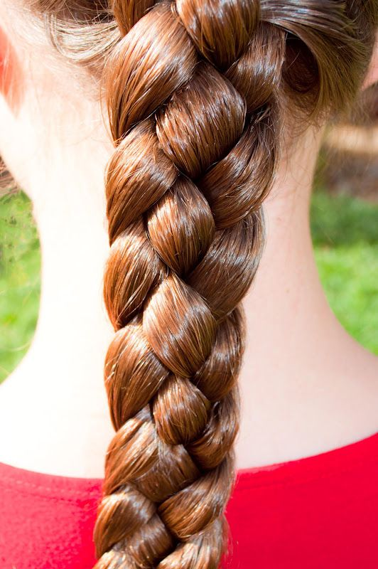 Girls School Hairstyle 4 Strand Plait Claire S Back To School