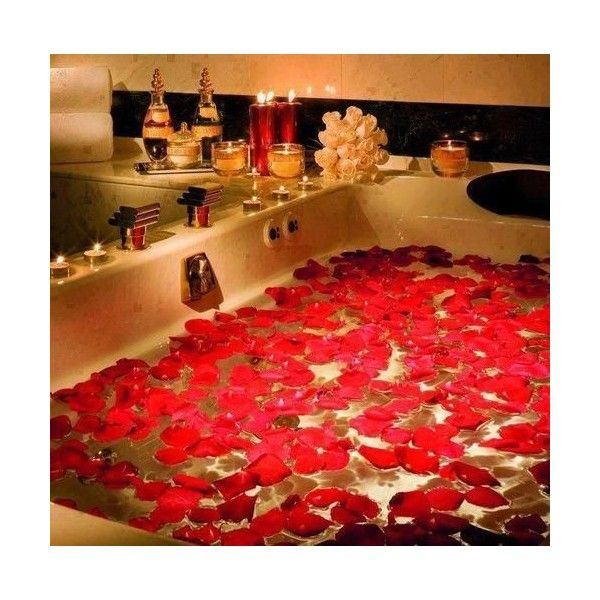 Red Rose Petals ❤ Liked On Polyvore Featuring Home, Home Decor, Red Home  Accessories