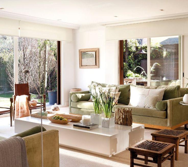 17 mejores ideas sobre sala de estar verde en pinterest ...