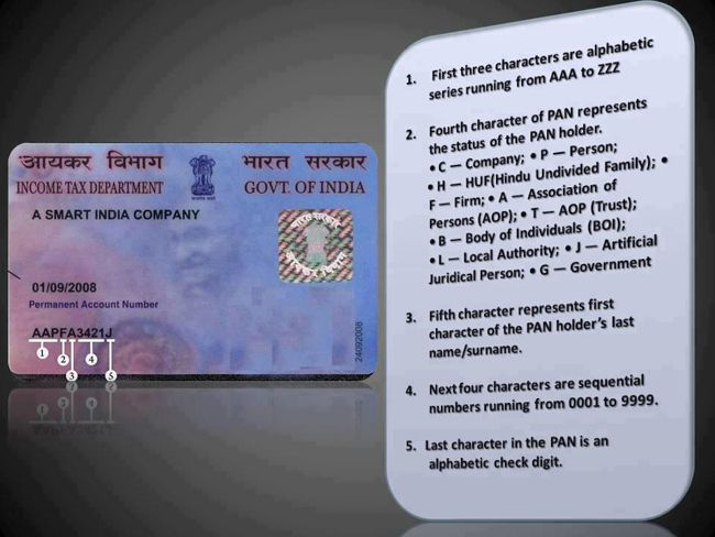 PAN card allotment process will undergo change from 3rd Feb,2014. Every PAN applicant has to submit self-attested copies of following documents.