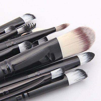 20tlg Professionelle Make-up Pinsel Set Brush Schminkpinsel Set Kosmetik Pinsel