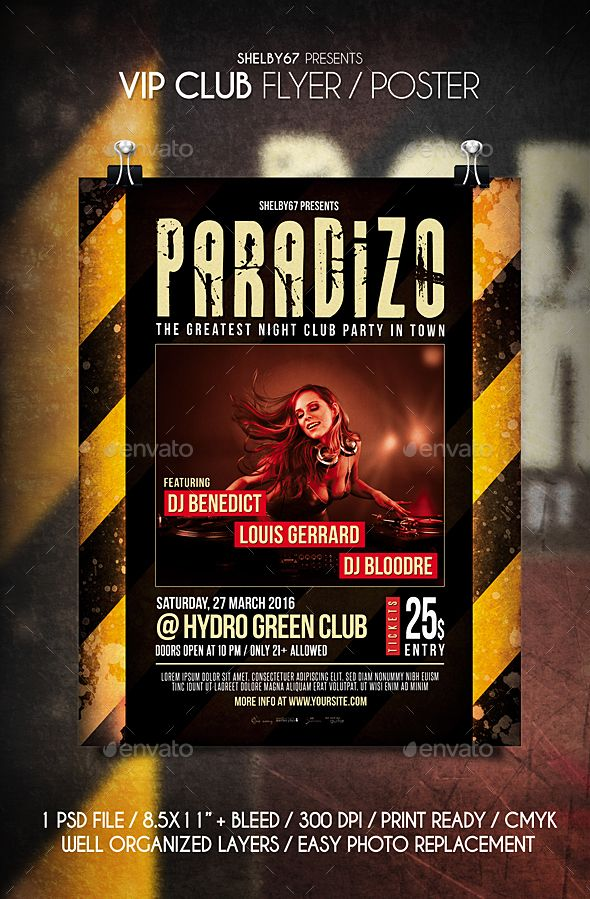 VIP Club Flyer / Poster