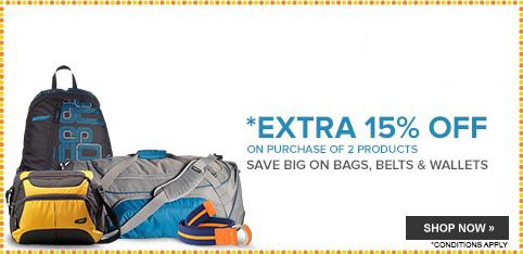 Bags, Belts and Wallets - Extra 20% Off