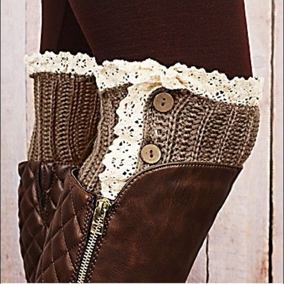 Boot Socks/Leg Warmers Boot Socks/Leg Warmers. Too cute to pass up. Warm. New in package. Next day shipping. Accessories Hosiery & Socks