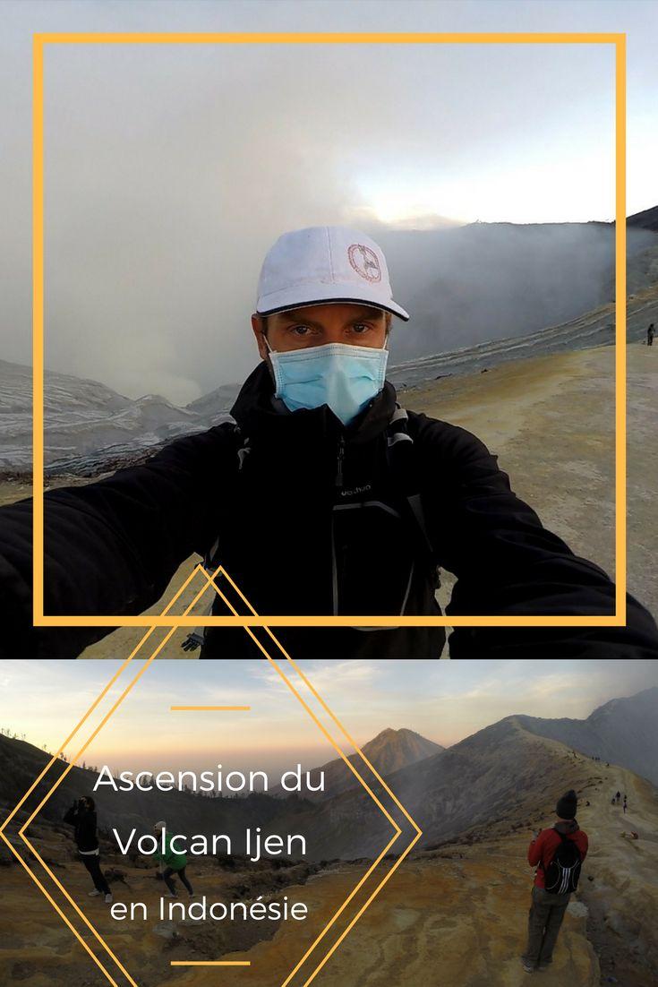 Je décris ici l'organisation de cette ascension du volcan Ijen à Java en Indonésie, avec photos et vidéo, tout pour vous aider à bien le préparer.