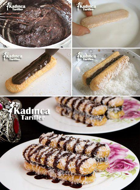 Kakao Kremalı Kolay Kedidili Pasta Tarifi