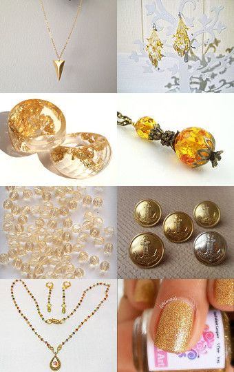 Gold for mothers by Bibe Jewelry on Etsy--Pinned with TreasuryPin.com