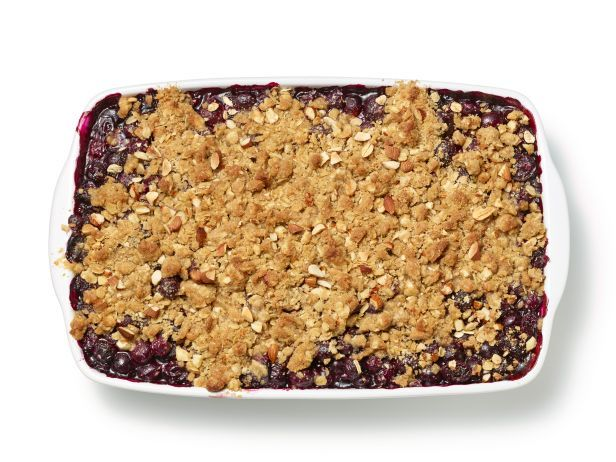 Blueberry-Oatmeal Crisp, Food Network mag. Sept. 2014 issue.