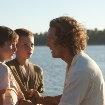 Still of Matthew McConaughey, Tye Sheridan and Jacob Lofland in Mud