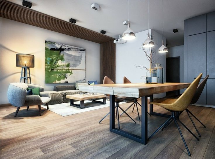 29 best idées pdv images on Pinterest Pendant lamps, Ceiling lamps - idee deco maison moderne