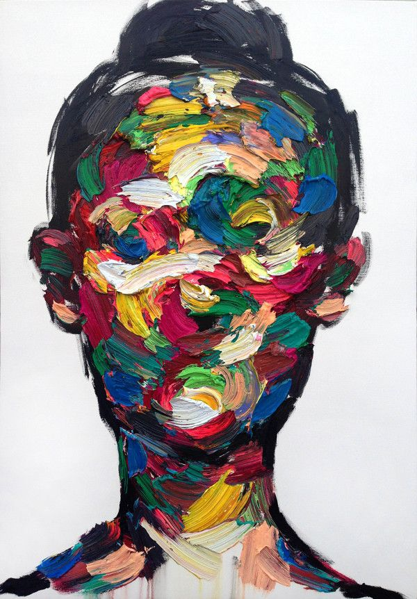 Striking Abstract Portraits That Eerily Express Human