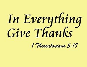 1 Thessalonians 5:18  Learn Spanish http://learnspanishthroughbible.blogspot.com Try it, and spread the Word of God.