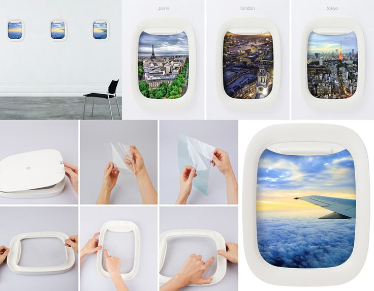 Airplane Window Picture Frames Absolutely Adore This