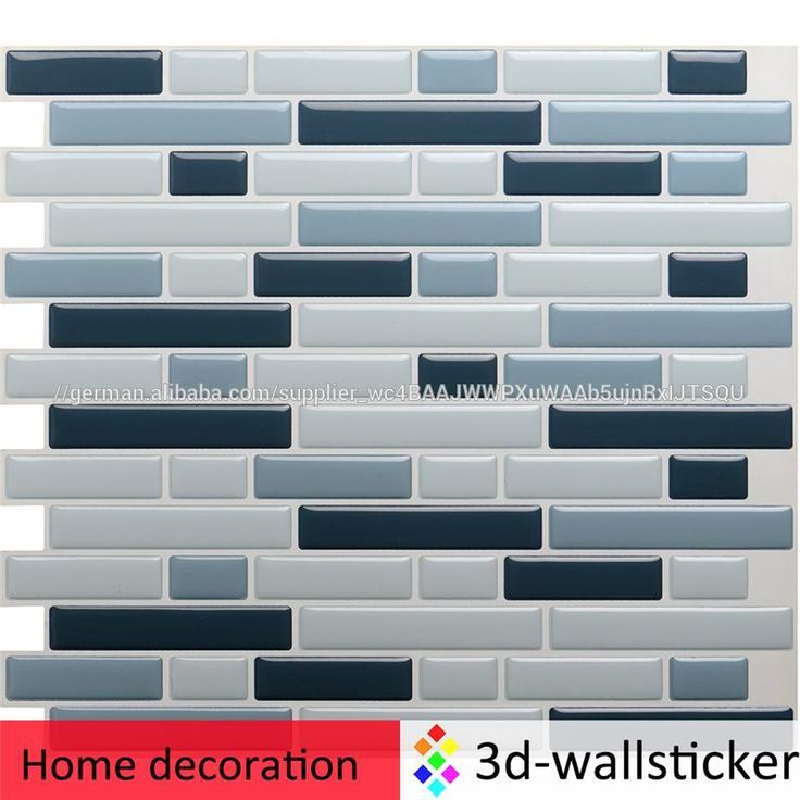 Tile Decoration Stickers Captivating 9 Best Home Decoration Self Adhesive Wall Tile Stickers Mosaic For 2018