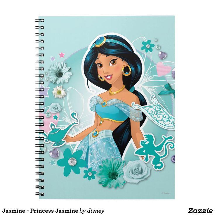 Jasmine - Princess Jasmine Regalos, Gifts. #notebook #cuaderno