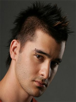 MOHAWK WANTED? TRY THE FAUX ONE short mens hairstyles 2014