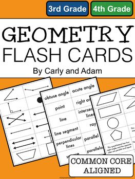 geometry flash cards. Black Bedroom Furniture Sets. Home Design Ideas