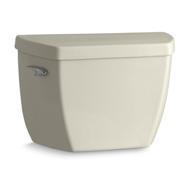 Highline Classic Toilet Tank with Pressure Lite Flushing Technology and Tank Cover Locks