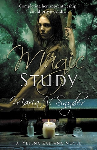 POISON STUDY BY MARIA V. SNYDER: booktalk with XTINEMAY …