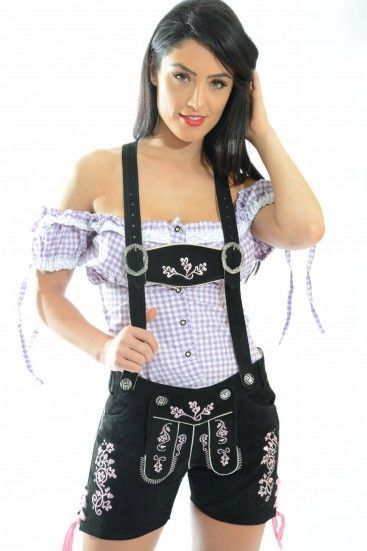 Womens Lederhosen | Female Lederhosen | Female Lederhosen Costume