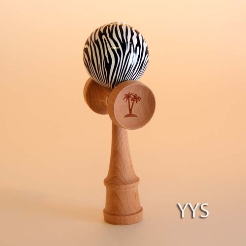 Bahama Kendama Animal Collection Zebra