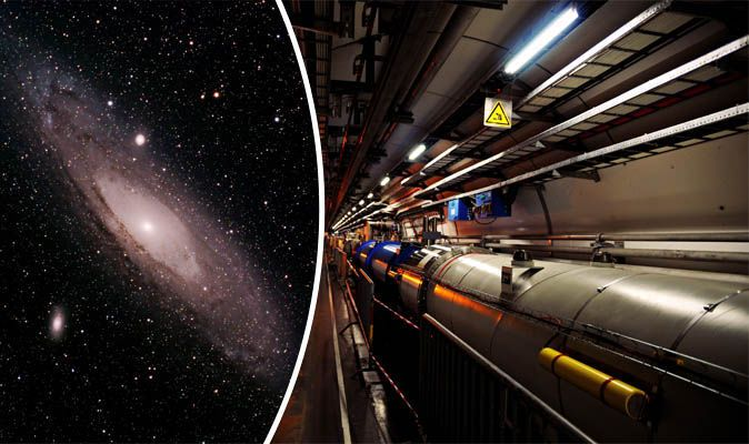 Large Hadron Collider set to discover FIFTH dimension and universe DOORWAY   Science   News   Express.co.uk
