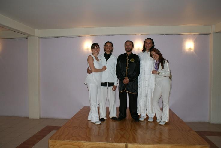 Master Juan Issac teaching us the tai chi chen style. Thank you Sanatio Lotus.