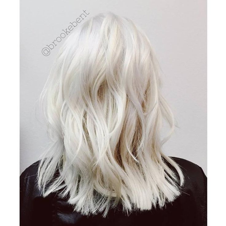 Ice Ice Baby The Coolest Icy Blonde By Brookebent
