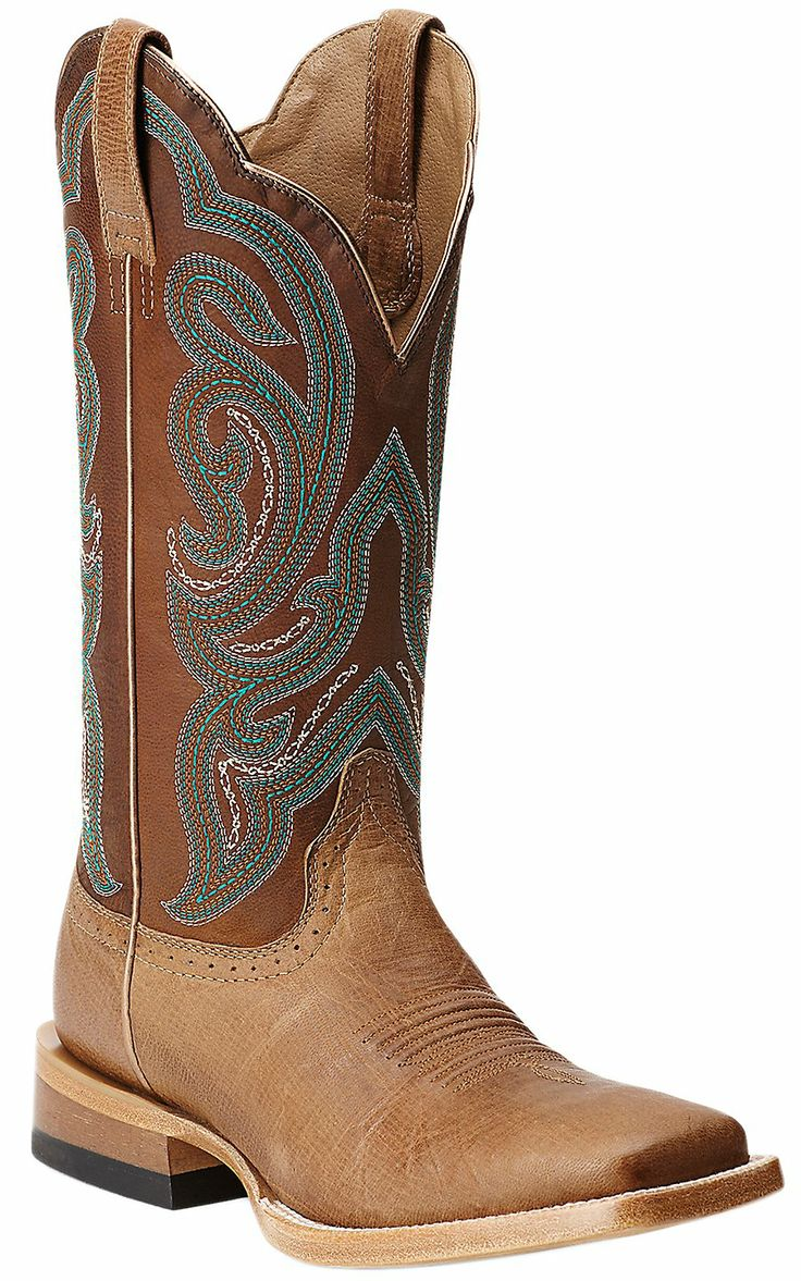 ariat 174 antonia s with sassy brown top square