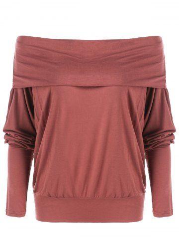 GET $50 NOW   Join RoseGal: Get YOUR $50 NOW!http://www.rosegal.com/sweatshirts-hoodies/off-the-shoulder-sweatshirt-765069.html?seid=7141741rg765069