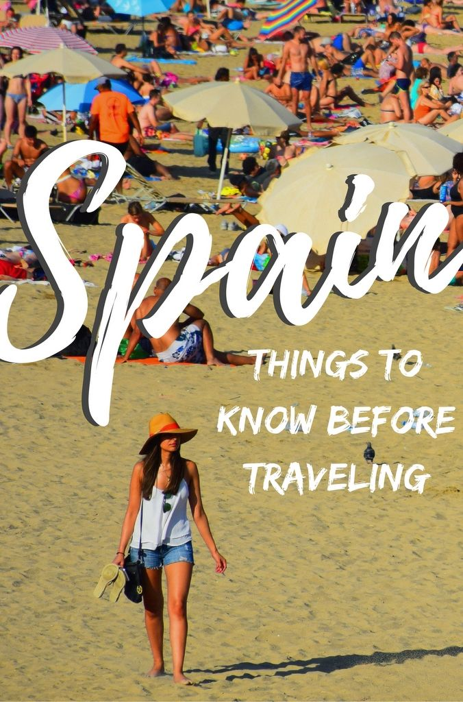 #Spain is one of the richest countries in the world from a cultural perspective. But there are certain things you should know before visiting. #travel