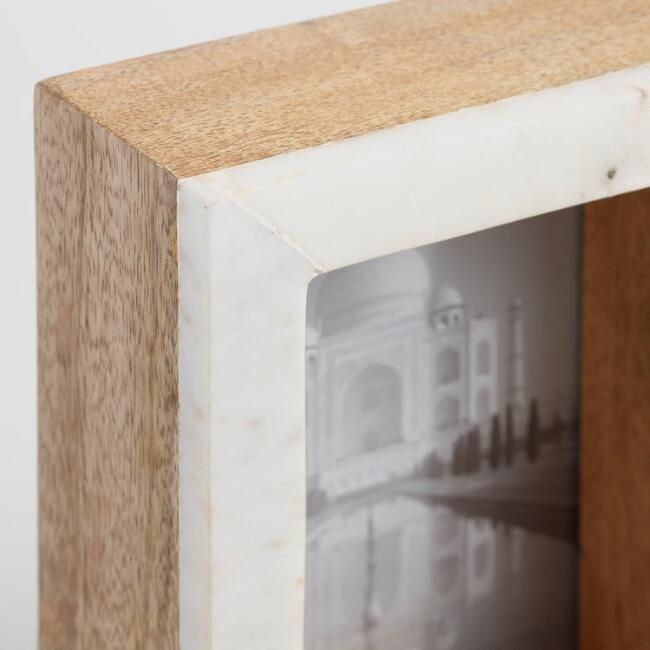 standing marble tabletop frames