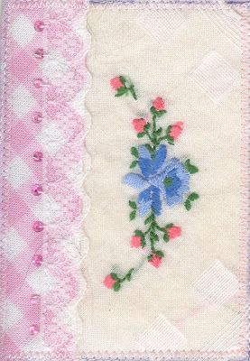 textile artist trading cards: 2009/08