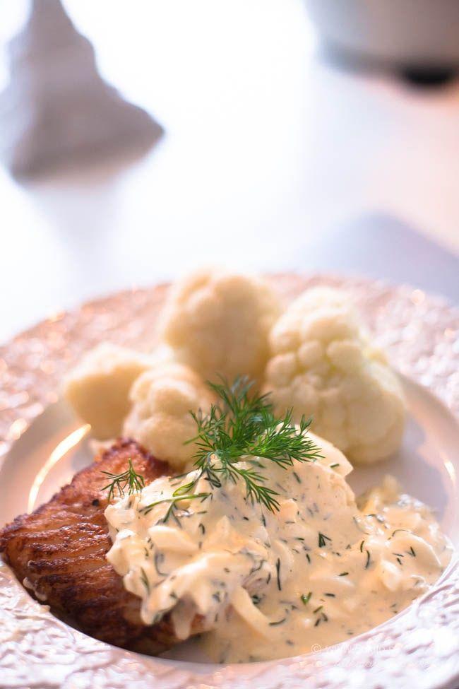 Smörstekt torsk och på roooosa humör! - 56kilo - inspiration, hälsa och matglädje