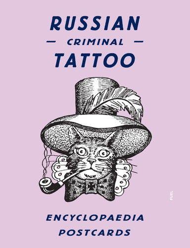 Russian Criminal Tattoo Encyclopaedia Postcards