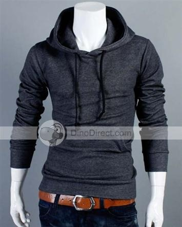 I found 'YW®   Style Slim Long Sleeve Hooded Sport Casual Men Crewneck Sweatshirt' on Wish, check it out!